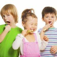 La higiene bucal de los niños y los bebés
