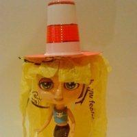 Sombrero de payaso. Manualidades infantiles de reciclaje