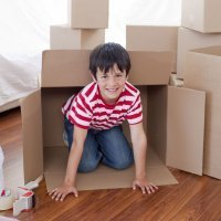 Manualidades de reciclaje para niños con cajas