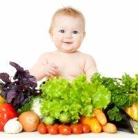 Alimentación de bebés y niños por edades