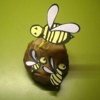 Colmena de abejas. Manualidades para niños