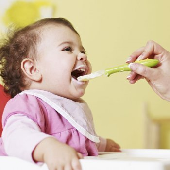 Los primeros alimentos del bebé