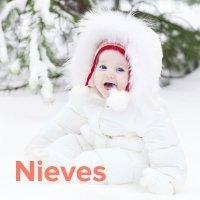 Día de Nuestra Señora de las Nieves, 5 de agosto. Nombres para niñas