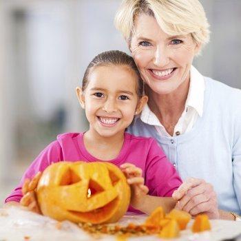 Actividades con calabazas para niños en Halloween
