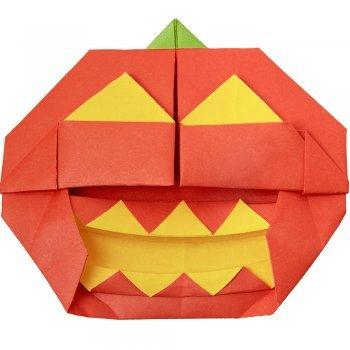 Figuras de origami de Halloween