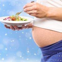 Embarazada en Navidad. Qué comer sin riesgos