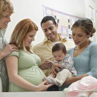 Recomendaciones para visitar al recién nacido y a la mamá