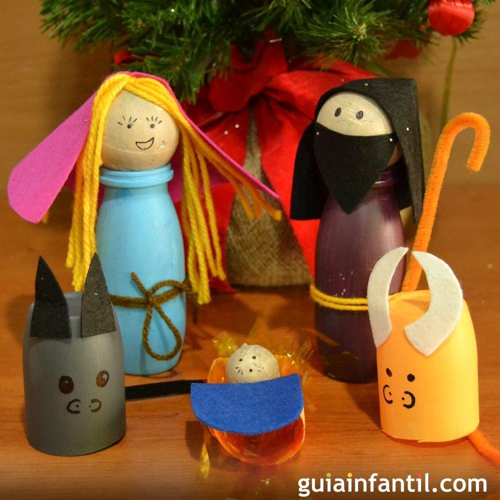 Decoraciones navide as con reciclaje para ni os - Reciclaje manualidades decoracion ...