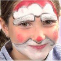 Cómo hacer un maquillaje de Papá Noel a un niño