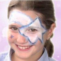 Cómo maquillar a un niño de estrella de Navidad