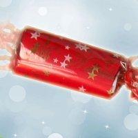 Cómo envolver regalos de Navidad con forma de caramelo