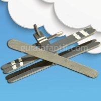 Avión con palos de helado para los niños