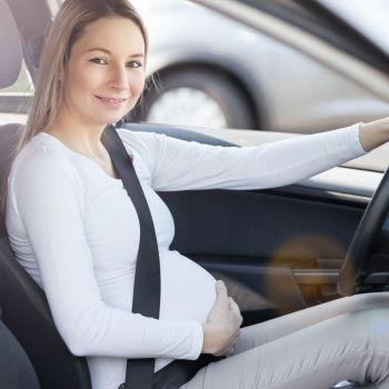 Cinturón de seguridad en el embarazo