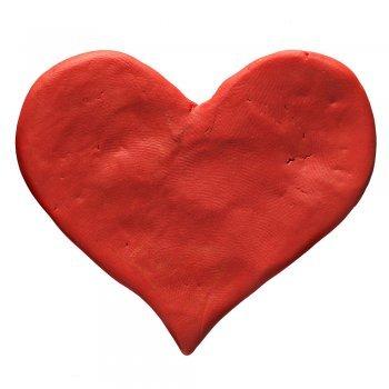 Corazón de pasta de sal