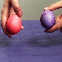 Cómo colorear huevos. Experimentos para niños