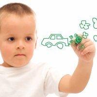 Cómo dibujar medios de transporte con los niños
