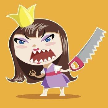 La princesa enfadada