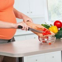 Menú semanal para embarazadas. Semana 9