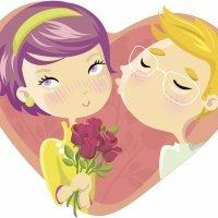 Besos. Poesía de Carmen Gil para niños