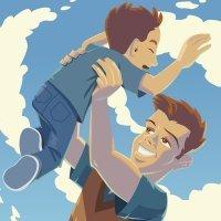 Quiero ser como mi papá. Canción infantil