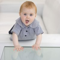 Precauciones cuando el bebé comienza a gatear