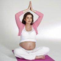 Posturas de yoga para embarazadas