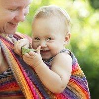 Porteo para bebés. Sistemas para llevar al bebé en brazos