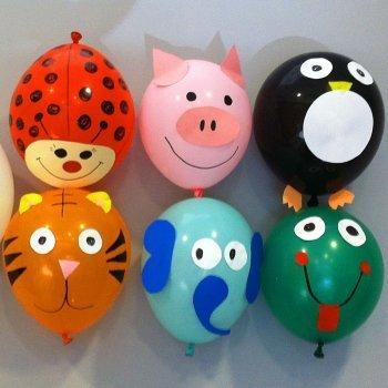 8 ideas para decorar globos con los niños