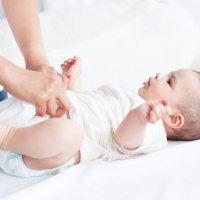 Cómo tratar las rozaduras del pañal en el bebé