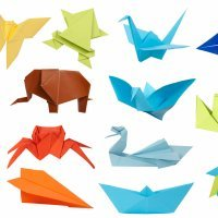 Origami o Papiroflexia. Manualidades con papel para niños