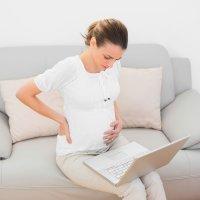 La mejor postura de la embarazada en el trabajo