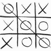 Cómo jugar al tres en raya. Juegos para niños con papel y lápiz