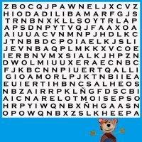 Sopa de letras. Juego de vocabulario para niños