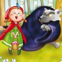 Cuento de Caperucita Roja en inglés para niños