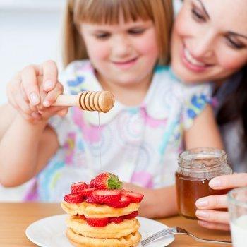 La miel en la alimentación de los niños