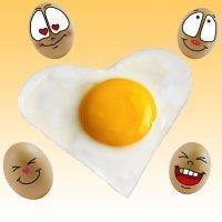 Cocina divertida de huevos para niños