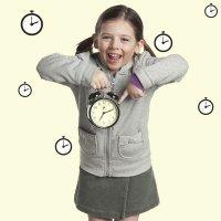 El valor de la puntualidad en los niños