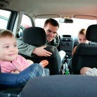 Normas en los asientos del coche para niños