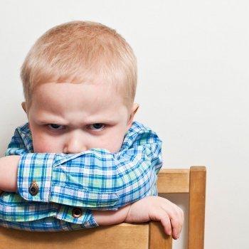 El sentimiento de frustración en los niños