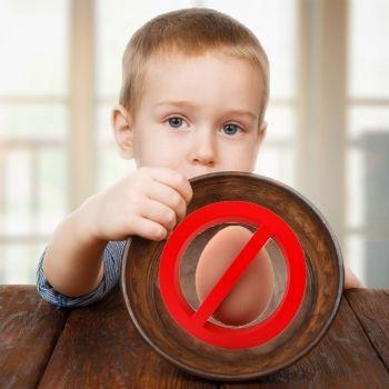 Alergia de los niños al huevo