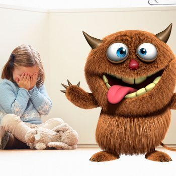 Juegos para que los niños pierdan el miedo a los monstruos
