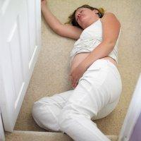 Golpes y caídas durante el embarazo