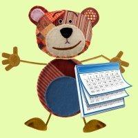 Calendario 2015 con el oso Traposo