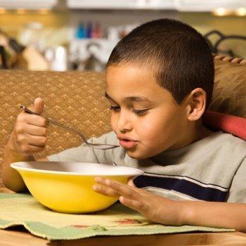 Derecho de los niños a la alimentación