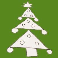 Aprende a dibujar un árbol de Navidad
