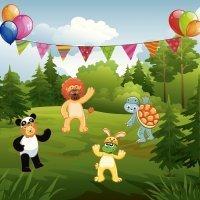 El disfraz de Carnaval de los animales. Cuentos para niños