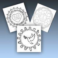 10 mandalas de la paz para imprimir