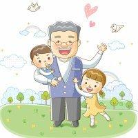 El abuelo. Poemas cortos para niños