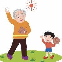 El abuelo jugando. Poemas cortos para niños