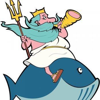 Poseidón y el reino submarino